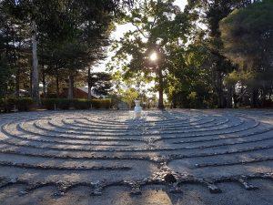 labyrinth at amberley