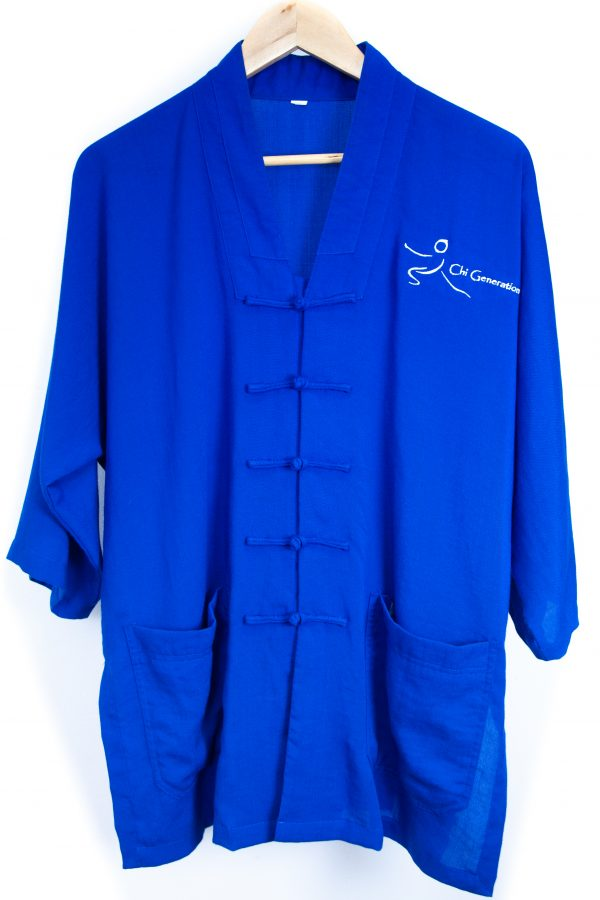 Blue Traditional Top