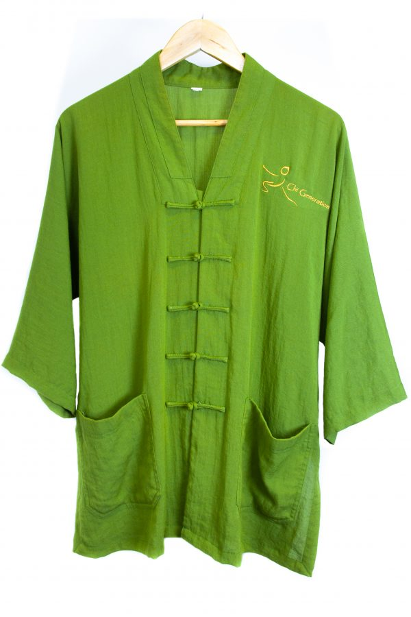 green traditional top