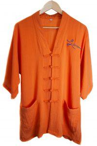 Orange Traditional Top