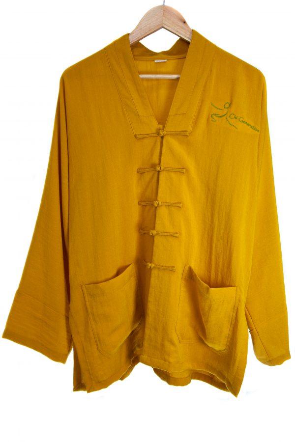 Dark Yellow Traditional Top