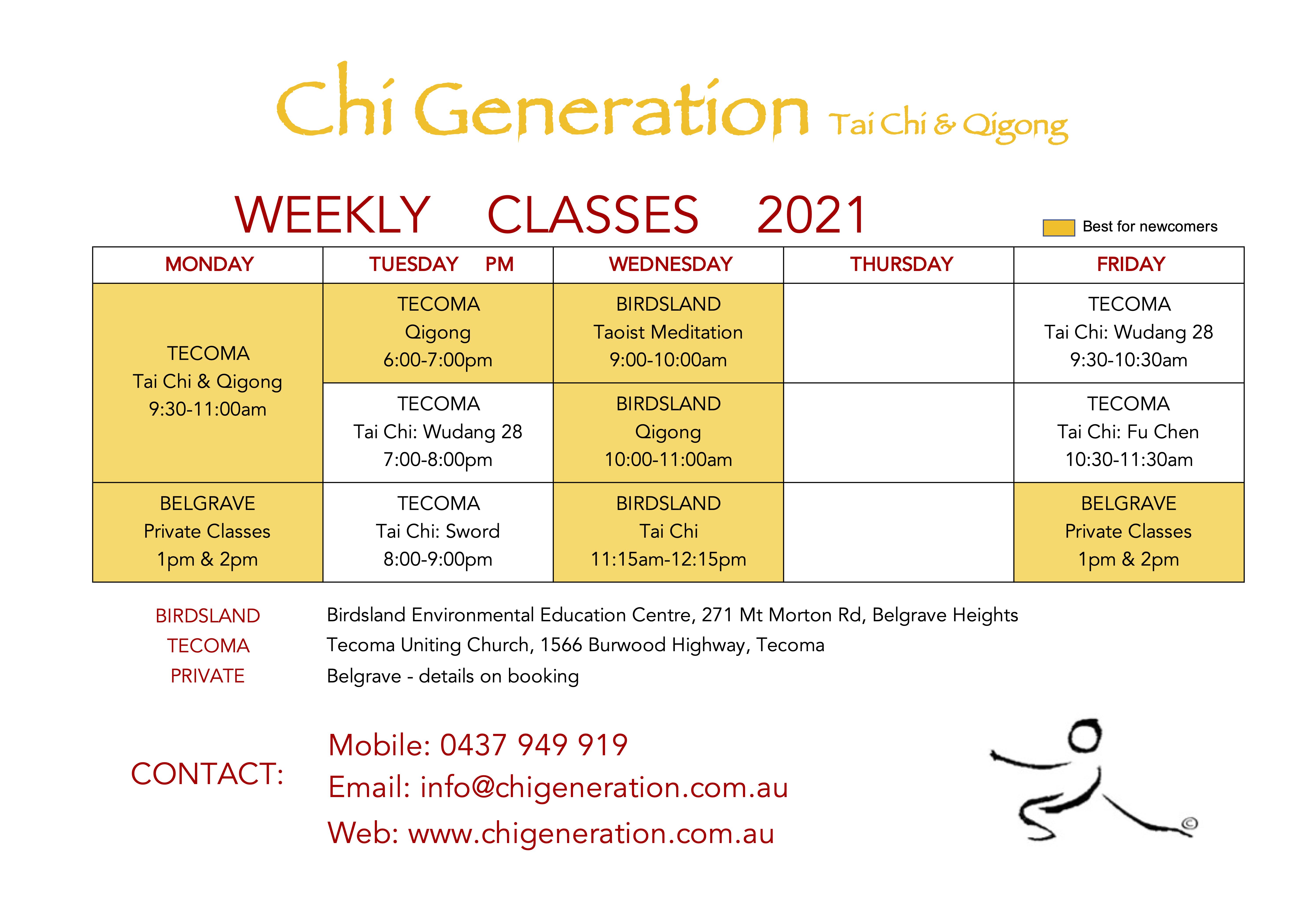 term 3 classes